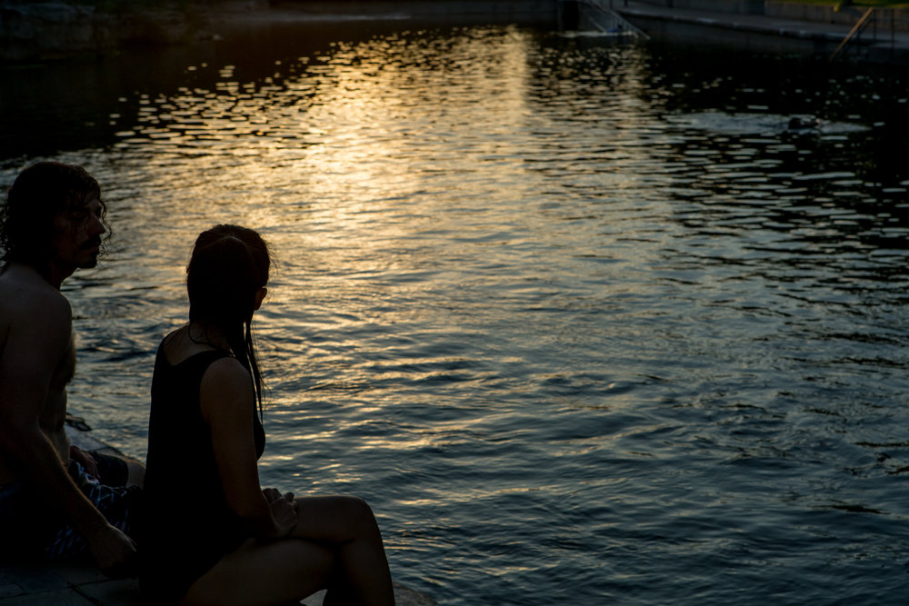 Barton Springs. Photo By Henry Davis