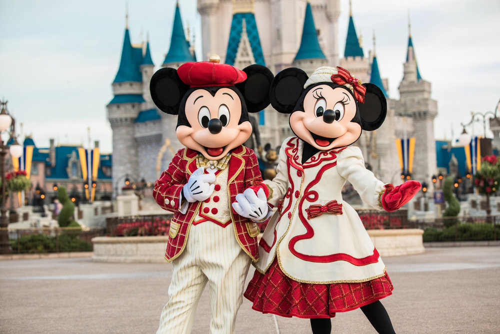 Holiday Mickey & Minnie