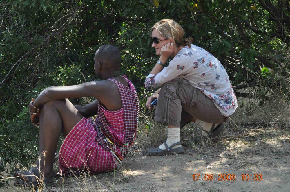 Hippo Watching Masai Mara
