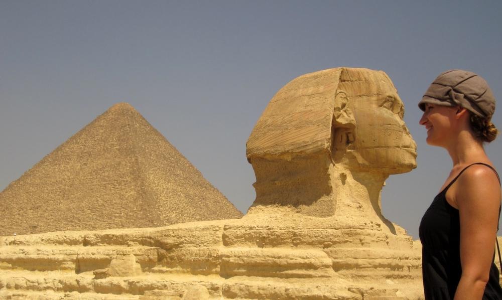 Sphinx in Giza, Egypt
