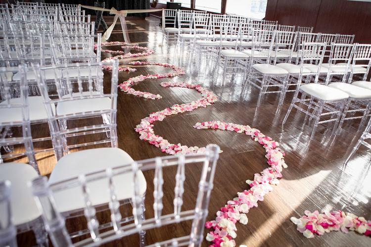 orange county wedding event planner custom walkway