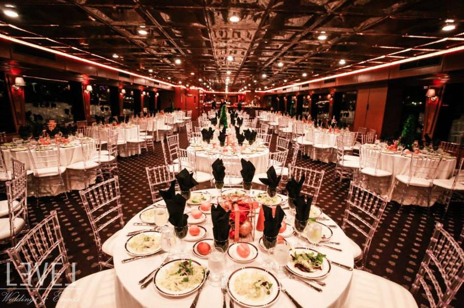 orange county wedding event planner empty reception