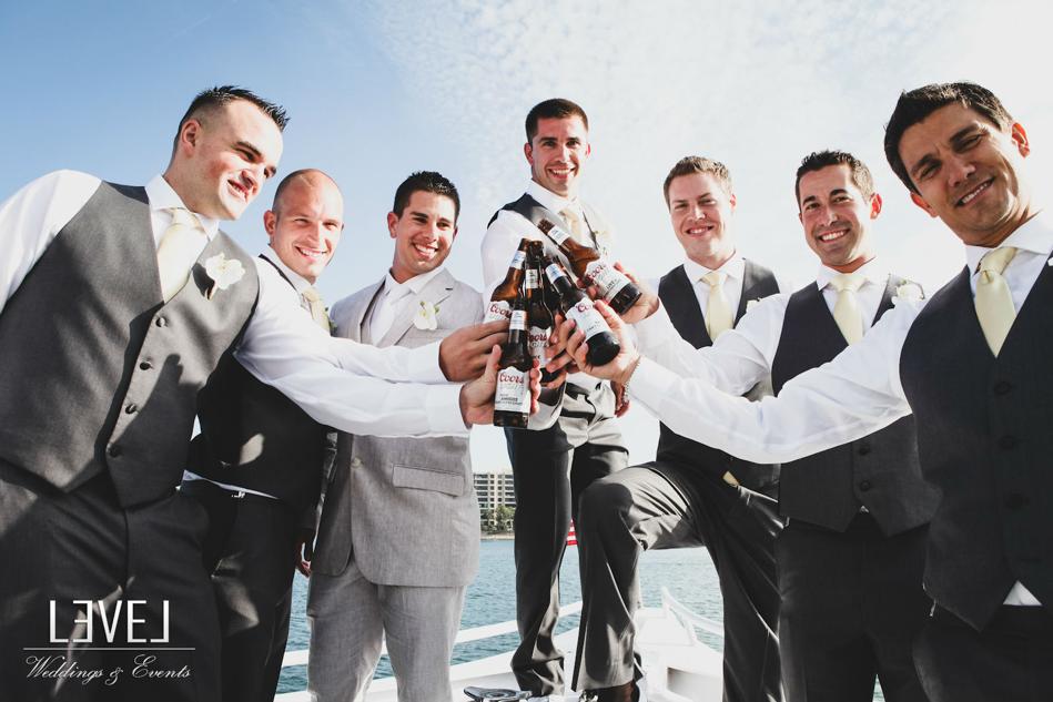 orange county wedding event planner groomsmen