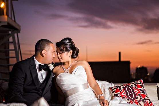 orange county wedding event planner couple kiss sunset
