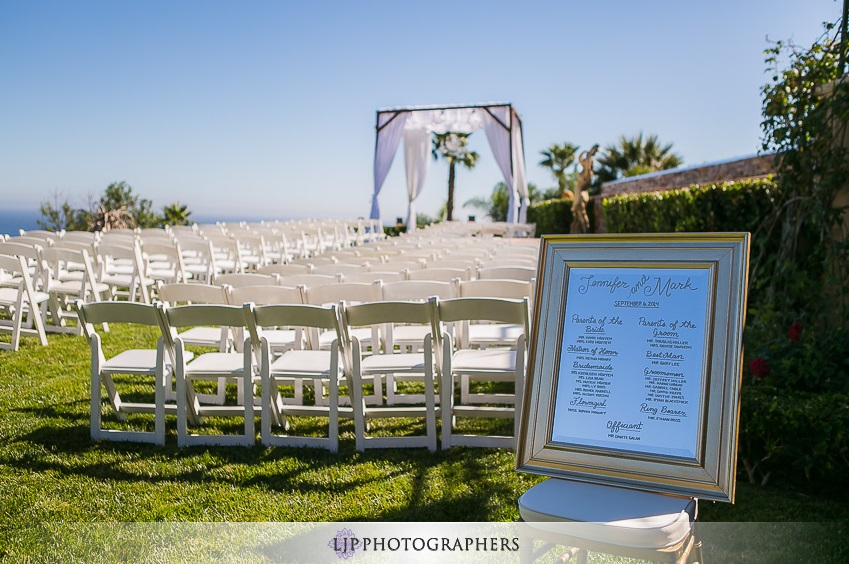 orange county wedding event planner wedding ceremony chairs and setup