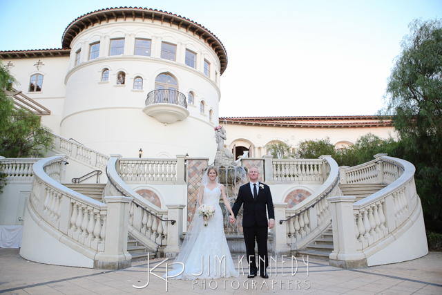 orange county wedding event planner couple holding hands