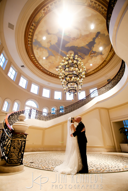 orange county wedding event planner wedding kiss
