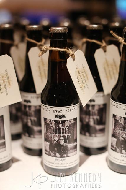 orange county wedding event planner custom wedding beer labels