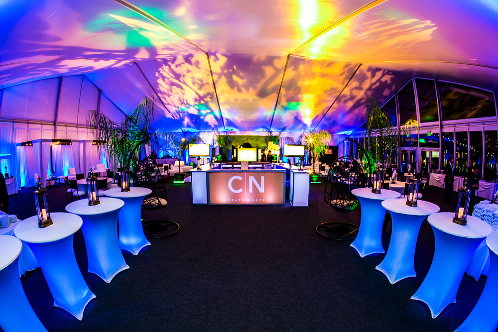 orange county corporate event planner custom uplighting