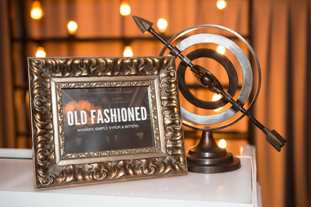 orange county corporate event planner old fashioned custom sign