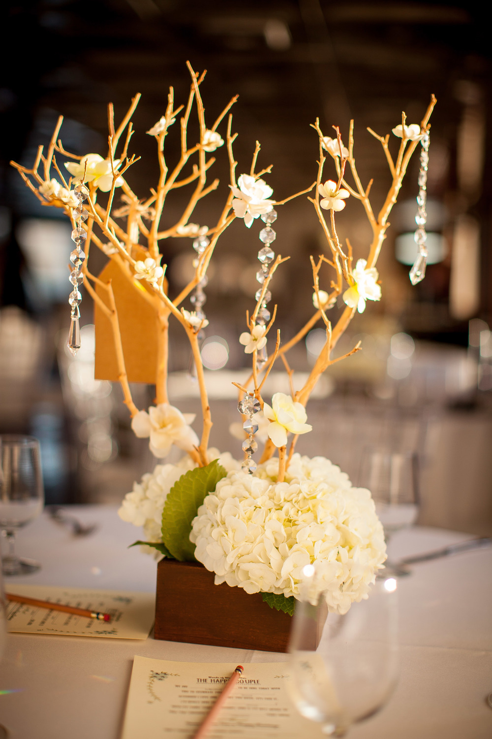 orange county wedding event planner tree with flowers
