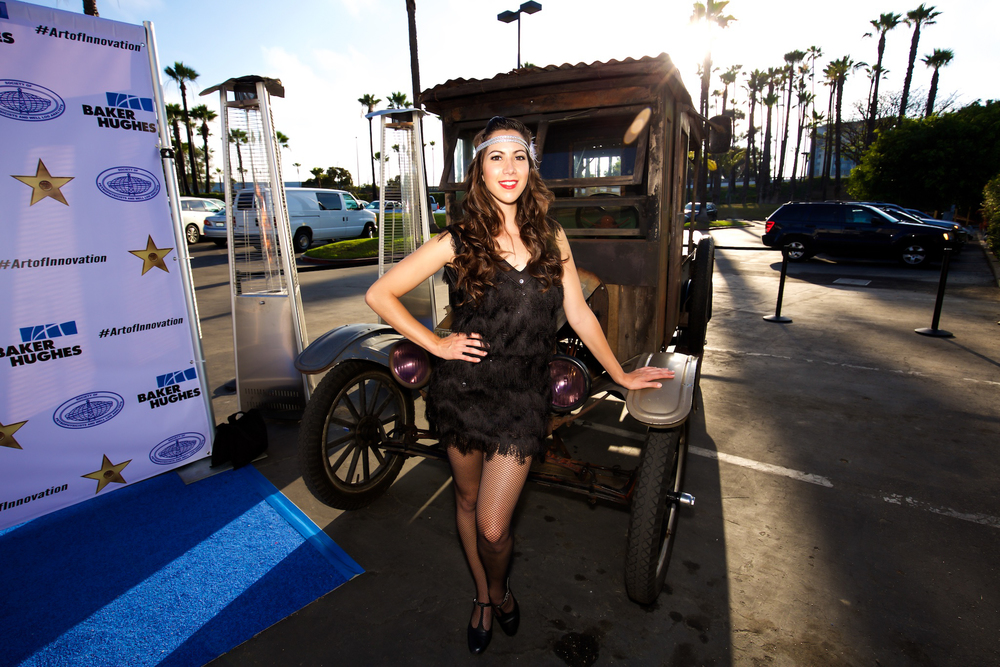 orange county corporate event planner antique car