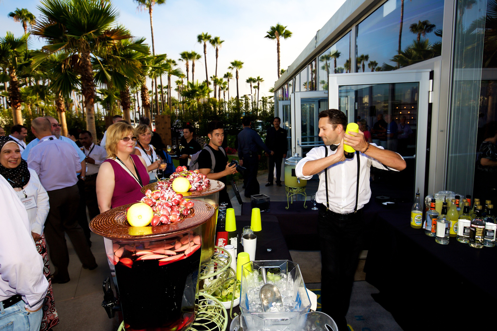 orange county corporate event planner flair bartender