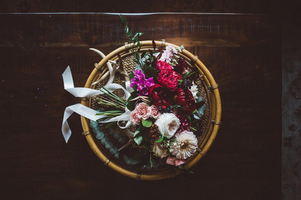 Bloom of Time Floral Orange County Wedding