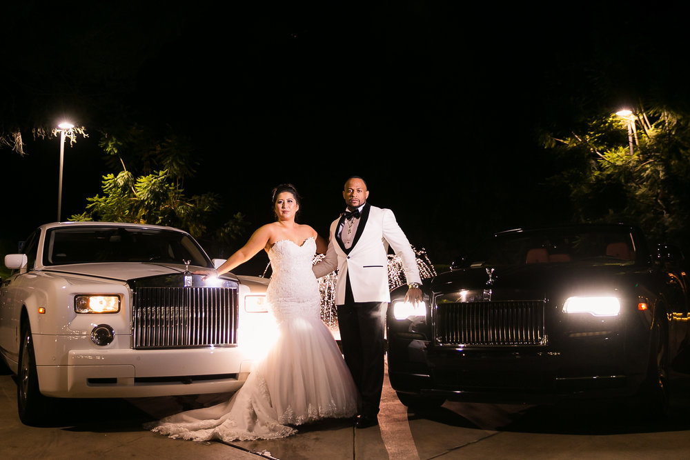 Rolls Royce Wedding Transportation