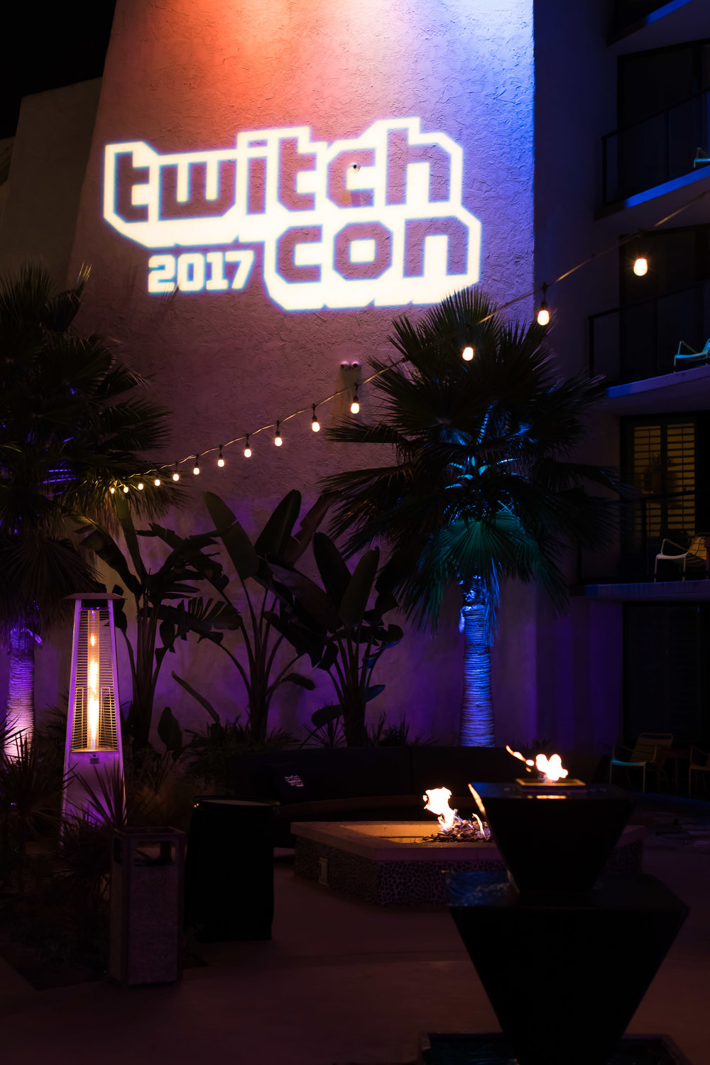 Twitch Con After Party Corporate Event Planning Light Up Branding