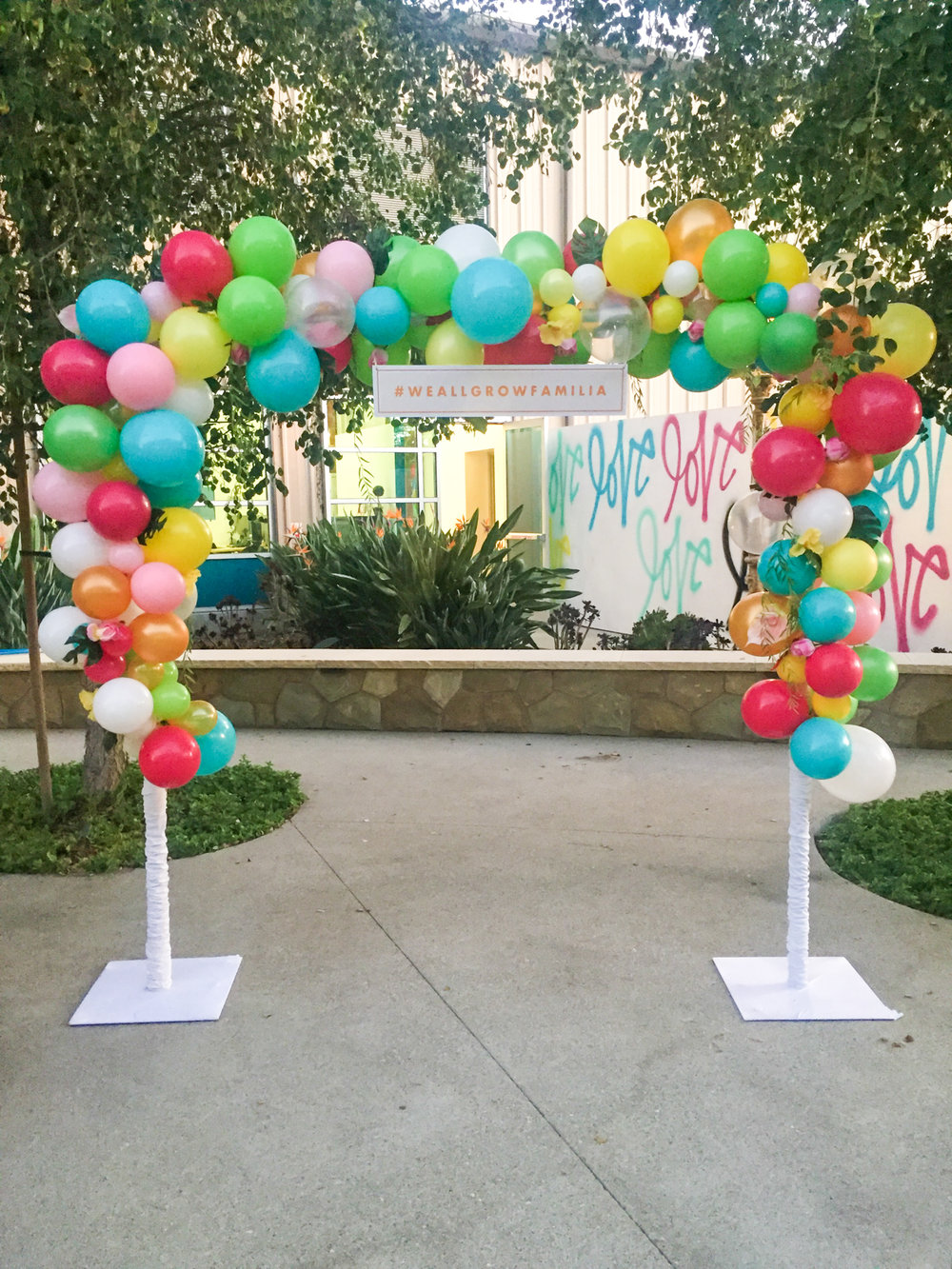 Balloon Installation Corporate Event Los Angeles