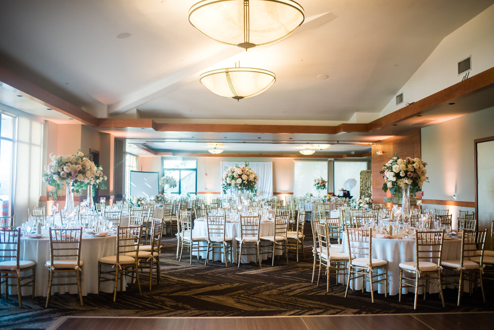 blush wedding design