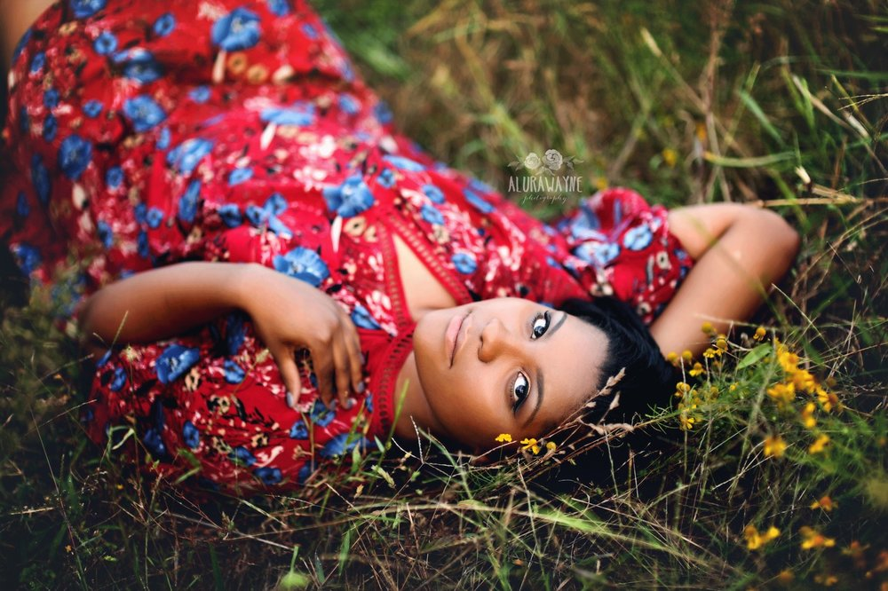 AluraWayne Senior Session Brentwood, TN
