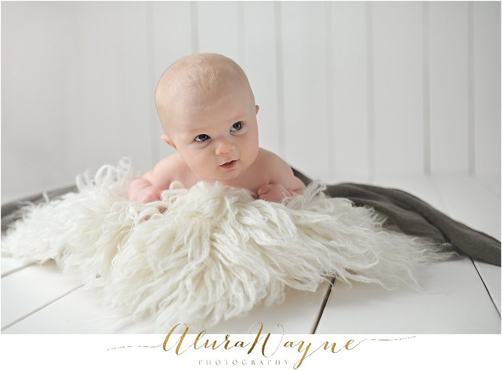 milestone session nashville, tn alurawayne photography 3 months, baby boy