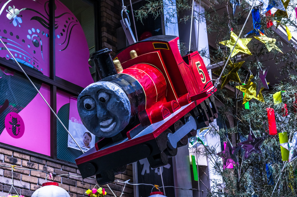 Thomas the Tank Engine is very popular in Japan