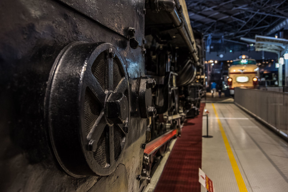 The Railway Museum in Saitama, Japan