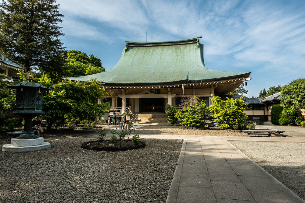 The main hall of Gotokuji