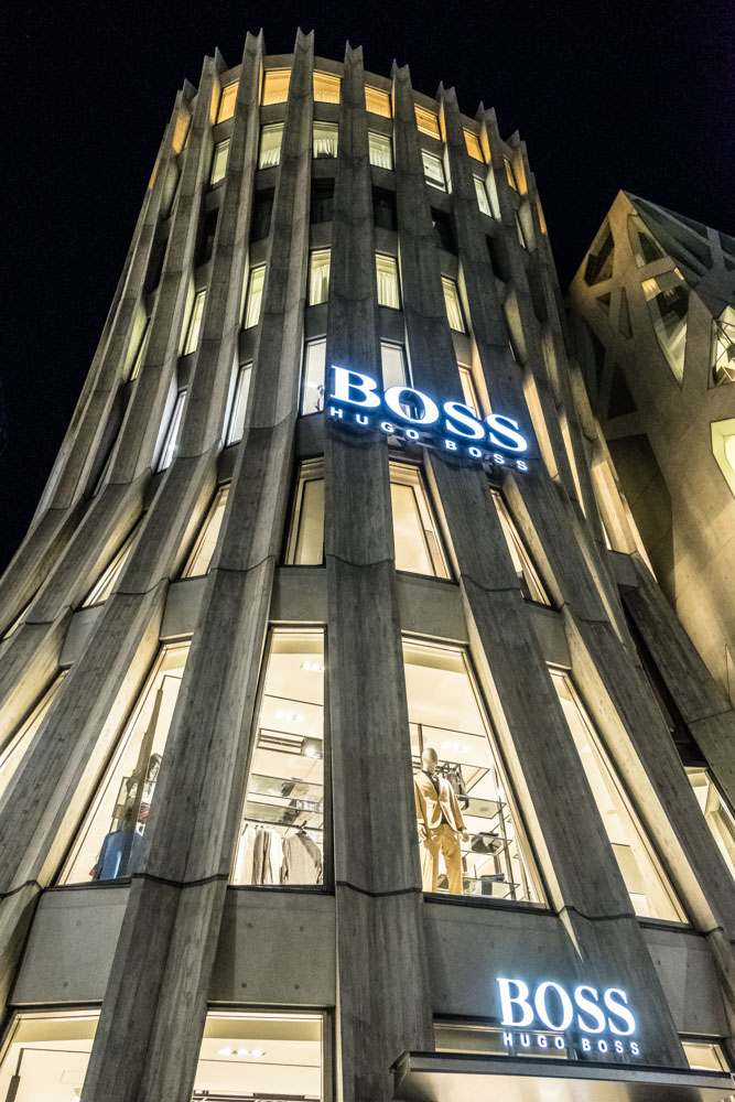 Boss by Hugo Boss in Harajuku