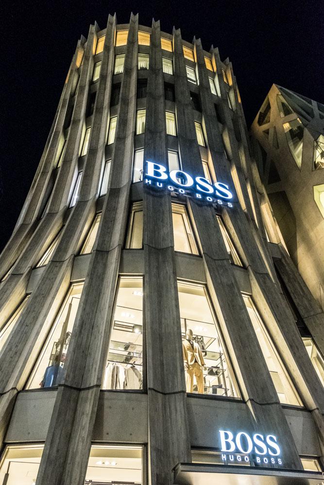 Boss by Hugo Boss in Harajuku