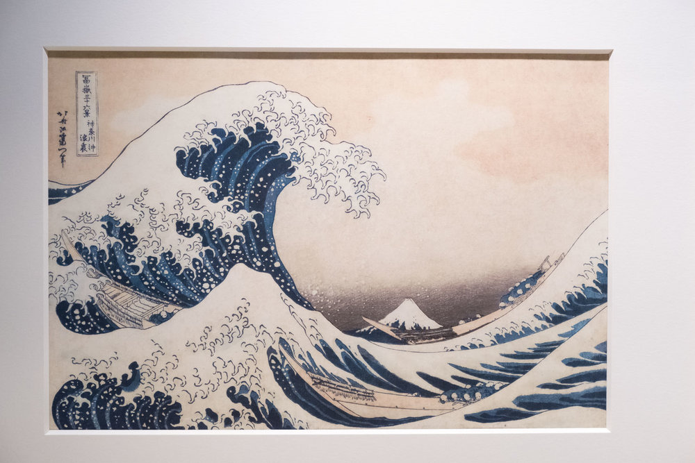 The Great Wave of Kanagawa (from the Thirty-six views of Mount Fuji series)
