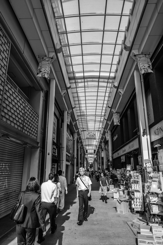 Diamond road, one of Kichijoji's popular malls
