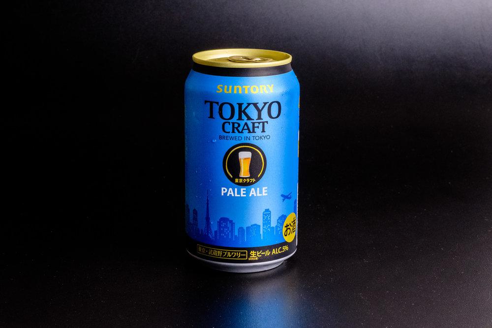 Tokyo Craft Pale Ale - brewed in Tokyo by Suntory