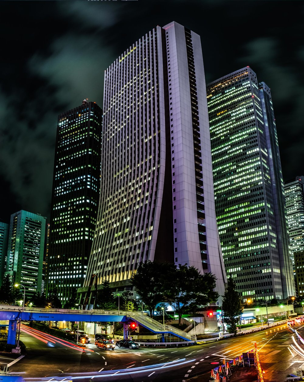 The Sonpo Japan building in Nishi-Shinjuku, Tokyo