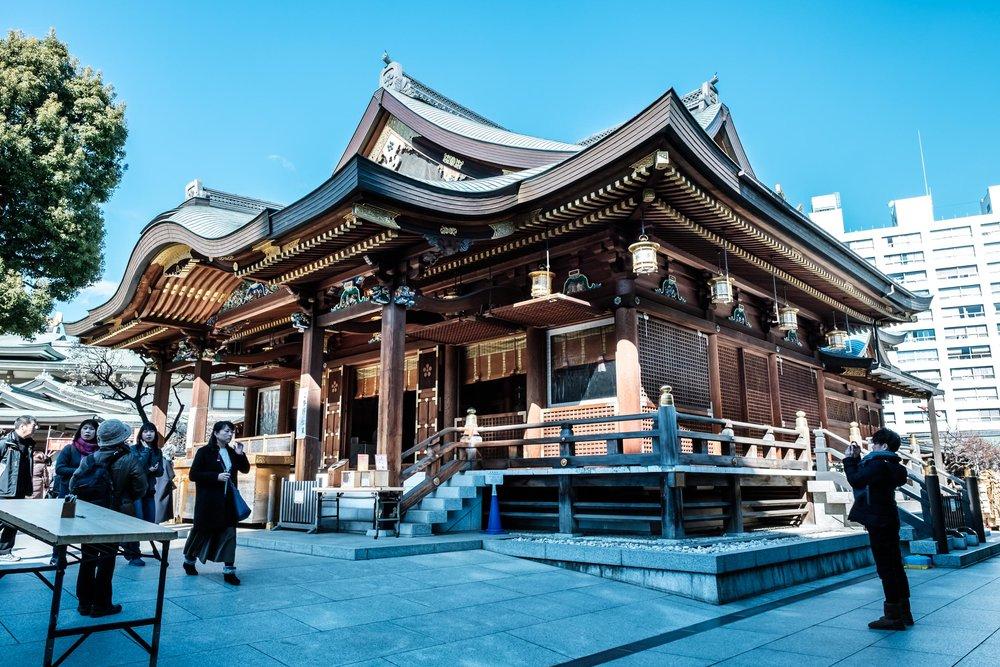 Yushima Tenjin - a great looking shrine