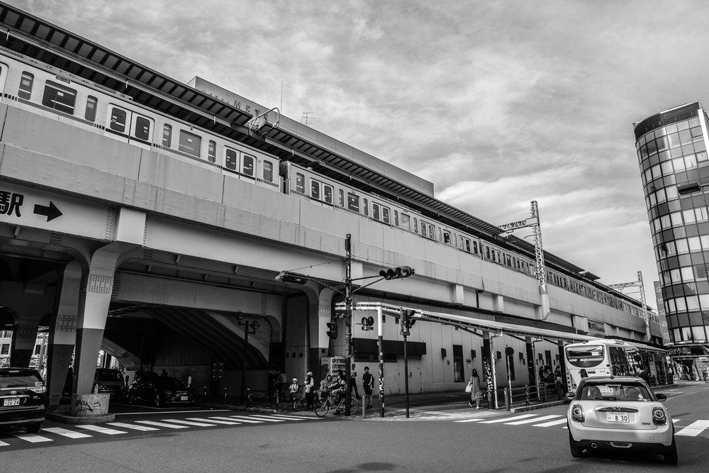 Koenji station in Tokyo's Suginami ward