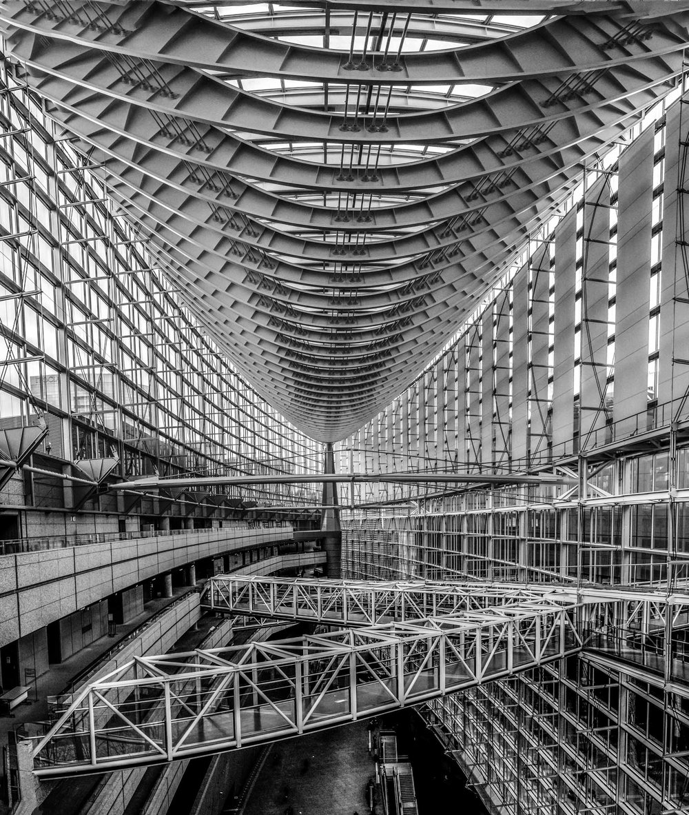 Tokyo International Forum - an architectural photographer's dream