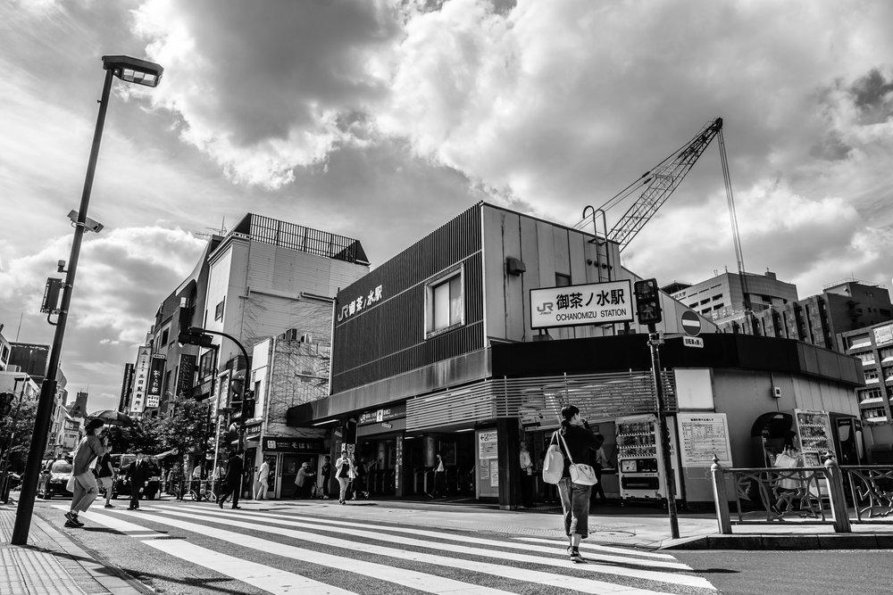 JR Ochanomizu station