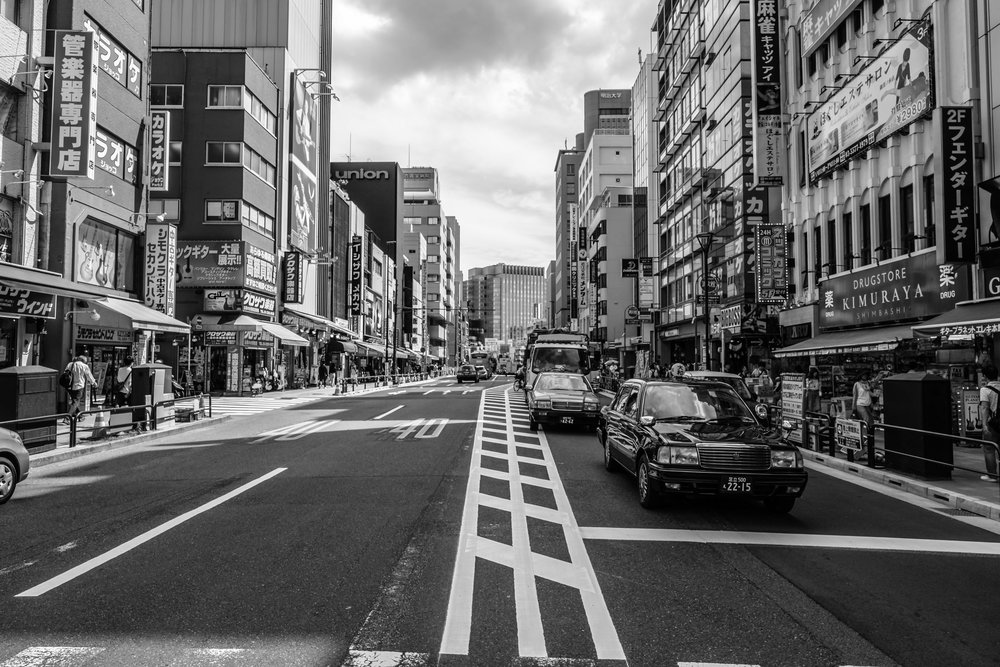 Guitar Street in Ochanomizu