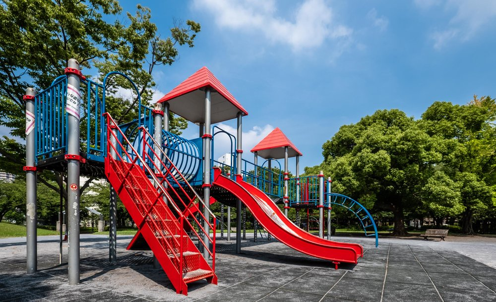 Need a place for kids to play, Sarue-Onishi park might be the place for you