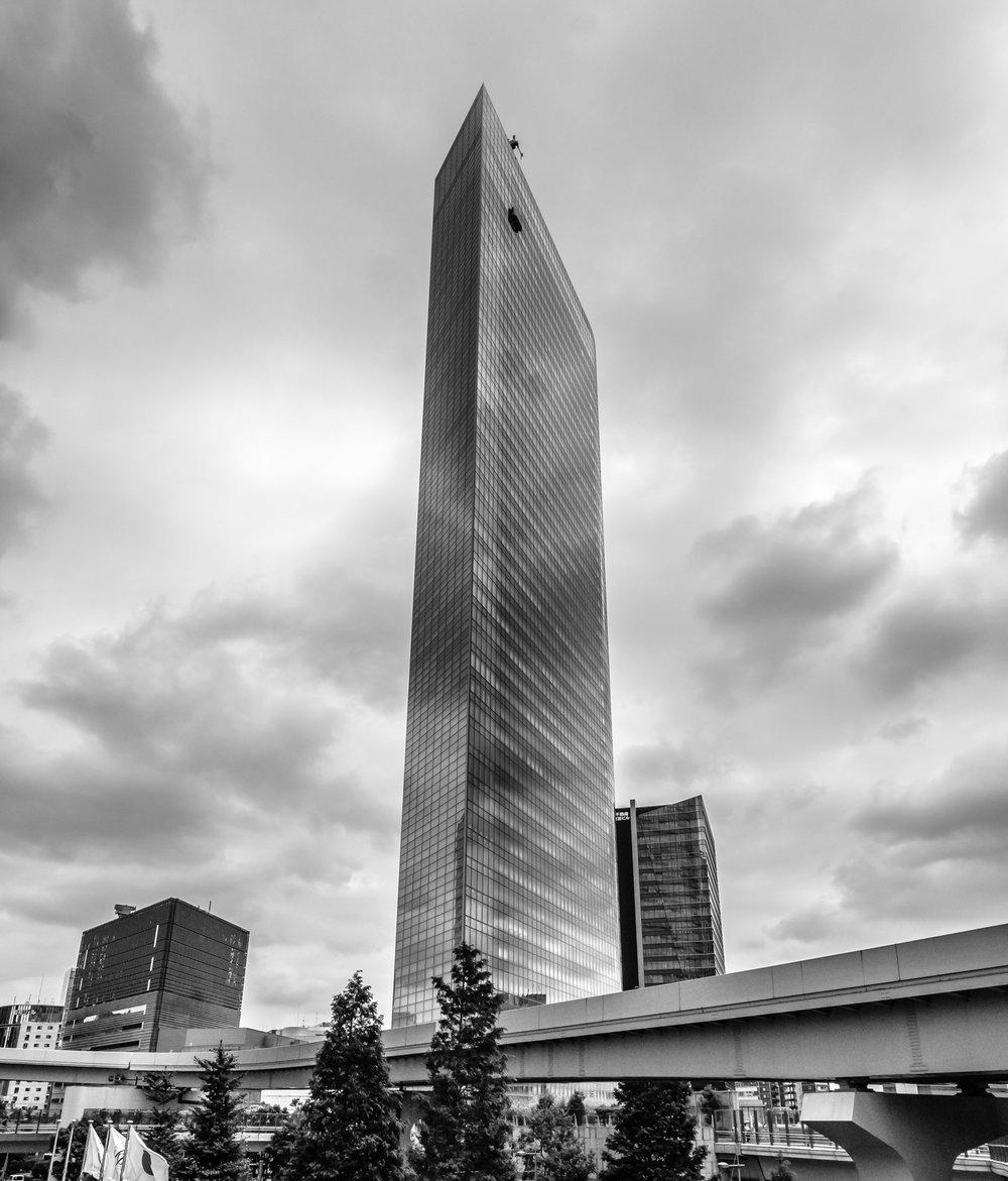 The Dentsu building