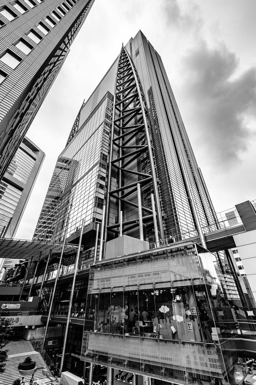 The Nippon TV near Shinbashi station