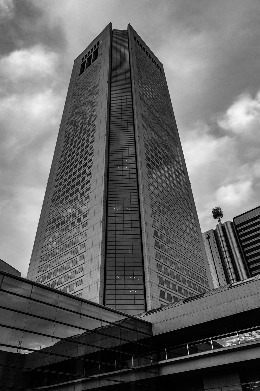 The one exterior shot of Tokyo Opera City Tower I took