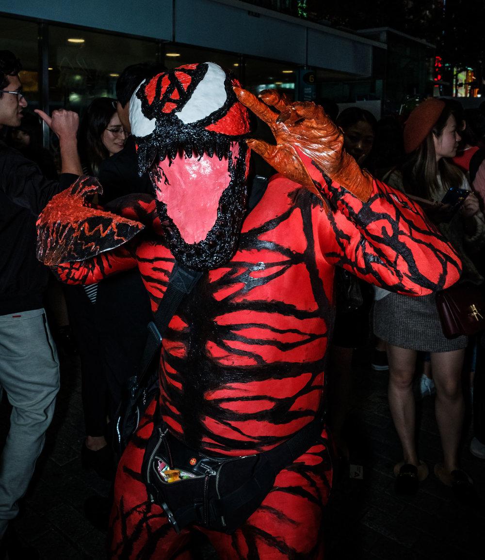 Venom in Shibuya