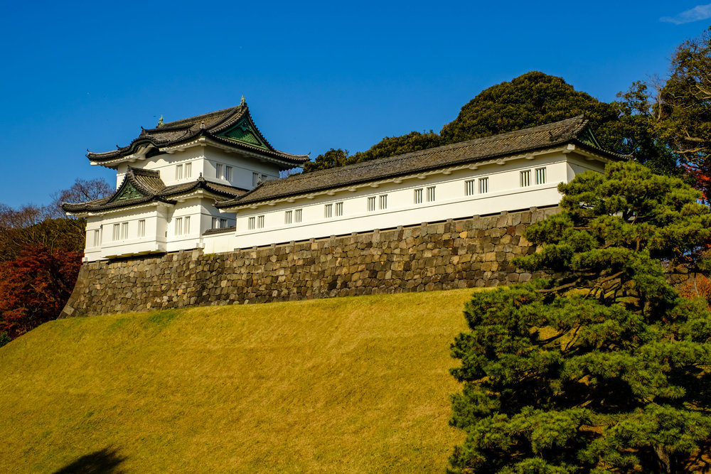 Fushimi Keep, one of the three remaining defensive towers within the palace grounds