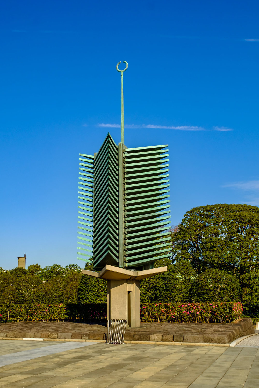 Matsu-no-to (松の塔), the Pinetree Tower.