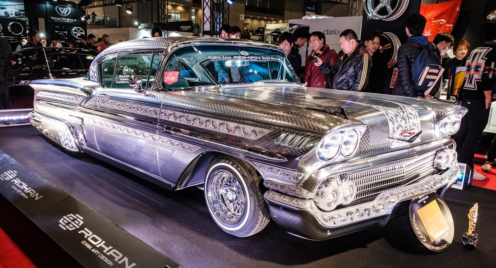 The 1958 Chevrolet Impala created by Rohan Body Works