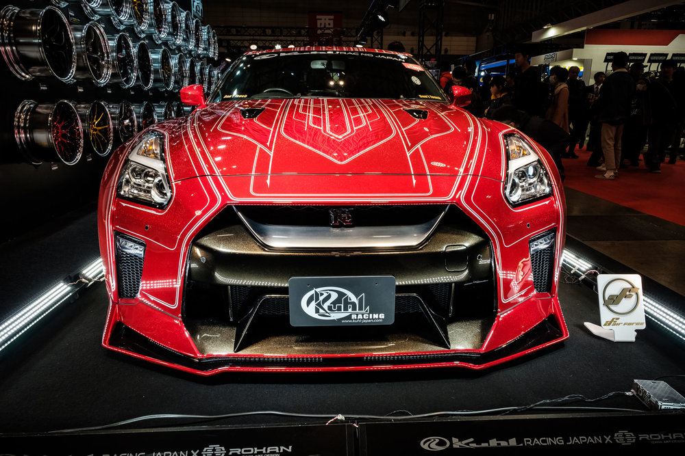 A Nissan GTR from Kuhl Racing
