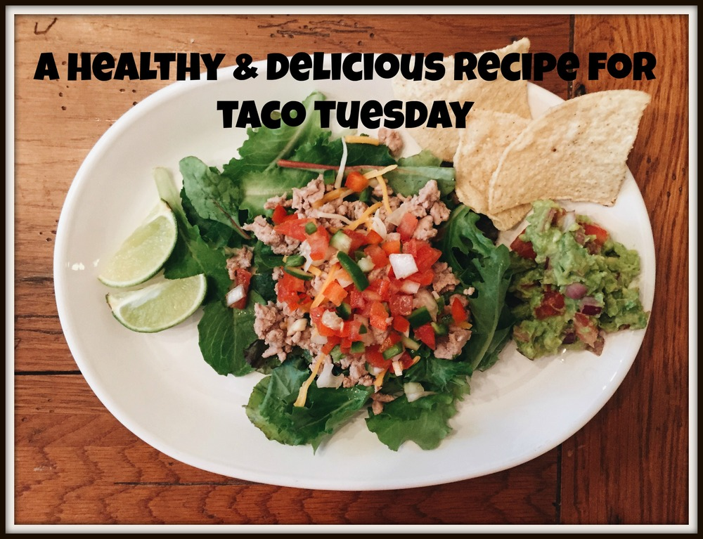 Taco Tuesday just got a lot healthier and yummier. This recipe was so easy to make and completely guilt-free!