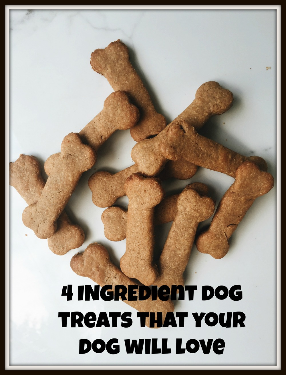 Looking for a healthy treat for your pup that she'll still love? Look no further! This treat is better than any store bought options!