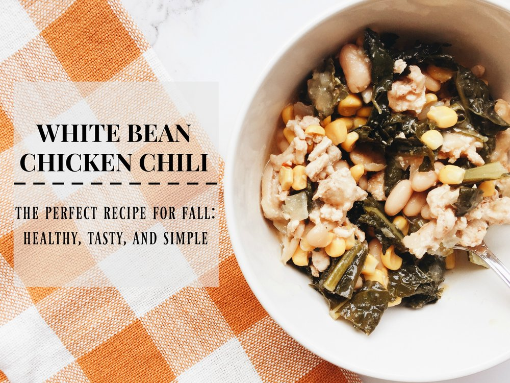 White bean chicken chili recipe joyfully jenna i did want to make sure i stopped by today with my white bean chicken chili recipe which originally comes from giada from the food network forumfinder Choice Image